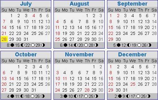 acroos the years training calendar 2