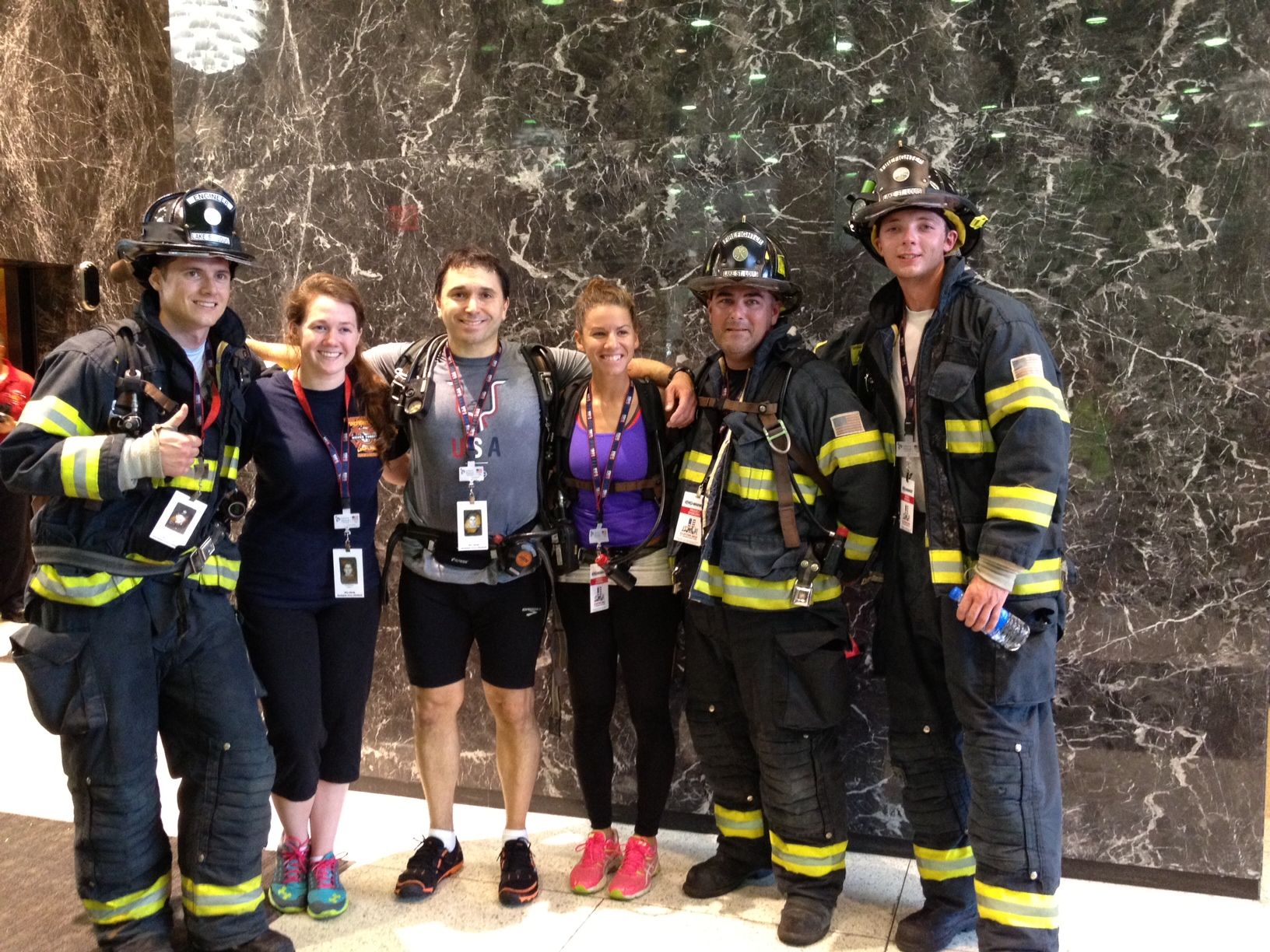 9-11 Memorial Stair Climb Fourteen