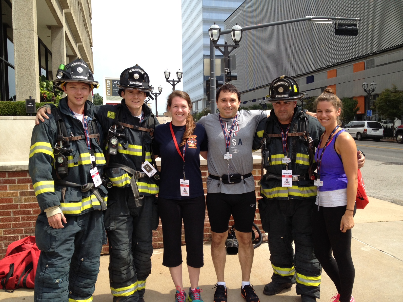 9-11 Memorial Stair Climb Six