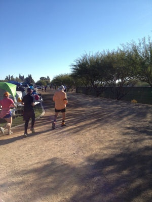 Running the course at Across the Years 2013 6