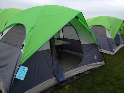 My tent from the outside at Across the Years 2013